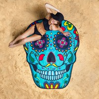 Sugar Skull Giant Beach Blanket