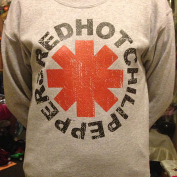 Red Hot Chili Peppers Crew Neck