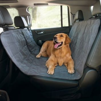 Paws Life Pet Hammock Car Seat Cover in Grey