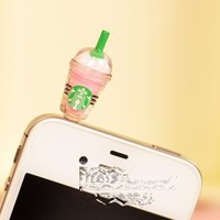 Cyprustech - Hot New Starbucks Coffee Style 3.5mm Headphone Anti-dust Plug Cap for Iphone 4 4S Sams