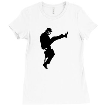 the funny wishky Ladies Fitted T-Shirt