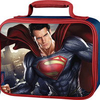 Super Man Thermos Brand Dual Lunch Bag  - Closeout