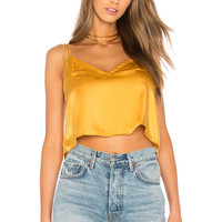 Motel Elgana Top in Mustard