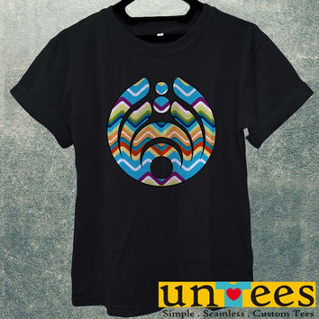 Bassnectar Logo on Chevron Men T Shirt