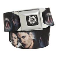 Supernatural Face Seat Belt Belt