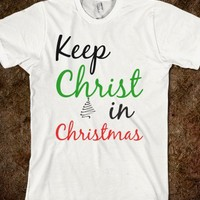 Keep Christ in Christmas - The Kay Designs