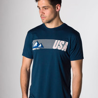 USA! Graphic Tee - Sea Blue : Marine Layer