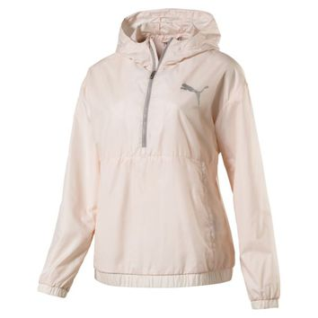 Women's Spark 3/4 Zip Hooded Jacket | Pearl | PUMA Best Sellers | PUMA United States