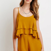 Layered Flounce Romper