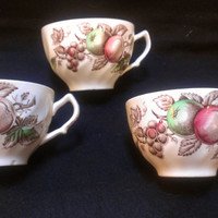 Johnson Bros. Harvest Time Cups (495)