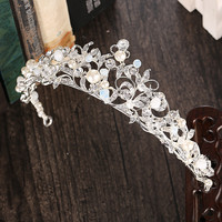 Headwear Korean Rhinestone Wedding Dress Prom Dress Accessory Hairband [8779898188]
