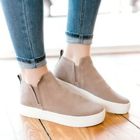 Dolce Vita Tate Sneaker -Taupe Suede