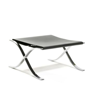 Mies van der Rohe Barcelona Stool with Cowhide Sling