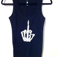 Black Boner Tank by OfIvy on Etsy