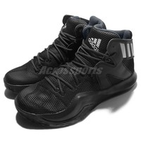 【50% Off】 adidas Crazy Bounce Black Men Basketball Shoes Sneakers Trainer AQ7757