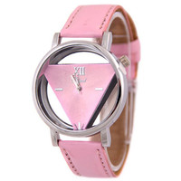 Designer's Great Deal Good Price Awesome Gift New Arrival Trendy Stylish Double Sided Hollow Out Korean Fashion Watch(with Gift Box) [9857414799]