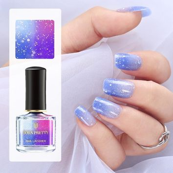 BORN PRETTY 6ml Champs Elysees Series Peel Off Color Changing Sunlight Sensitive Thermal Nail Polish