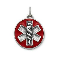 Enamel Medical Alert Charm | James Avery