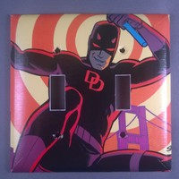Daredevil Comic Book Light Switch Cover