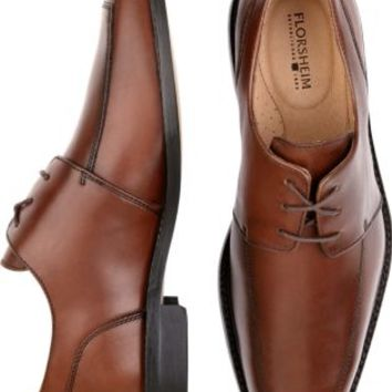 Florsheim Ashlin Cognac Lace-Up Shoes - Dress Shoes | Men's Wearhouse
