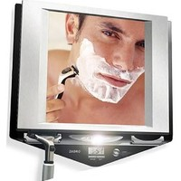 Zadro Fogless Lighted Shaving Shower Mirror