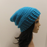 Everyday Slouch Hat  Aqua
