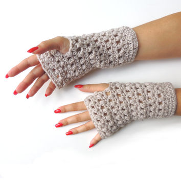 Fingerless gloves, hand warmers, by JPwithlove