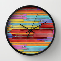 Zippers! Wall Clock by Raven Jumpo