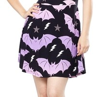 KILLSTAR PASTEL BAT SKATER DRESS
