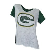 Green Bay Packers Cameo Burnout Tee