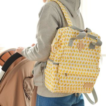 Multi Print Diaper Backpack