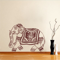 Oriental - Oriental Elephant - Wall Decals , Home WallArt Decals