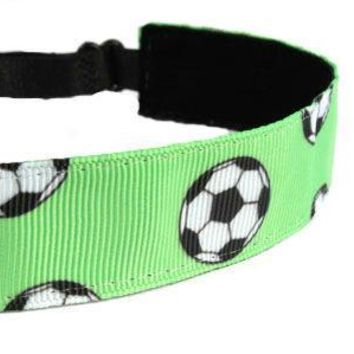 Green Soccer Headband