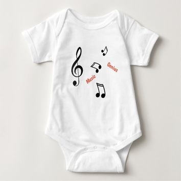 Music Genius Musical Notes Baby / Toddler Top