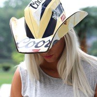 Coors Light Cowboy Hat
