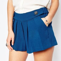 Traffic People Collette Pleated Shorts