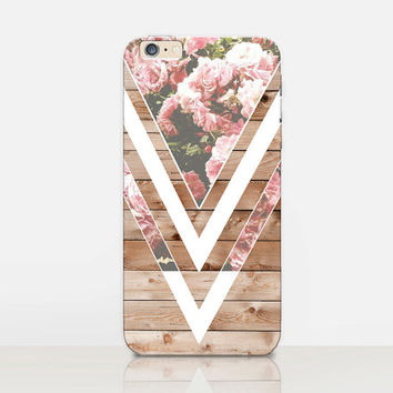 Roses Wood Phone Case  - iPhone 6 Case - iPhone 5 Case - iPhone 4 Case - Samsung S4 Case - iPhone 5C - Tough Case - Matte Case