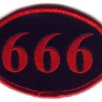Iron-on Patches - 666 Iron-on Patch