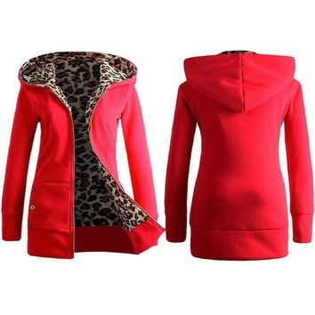 Women Snow Warm Jacket Velvet Hooded Long Straight Sweater Coat Outwear Jacket