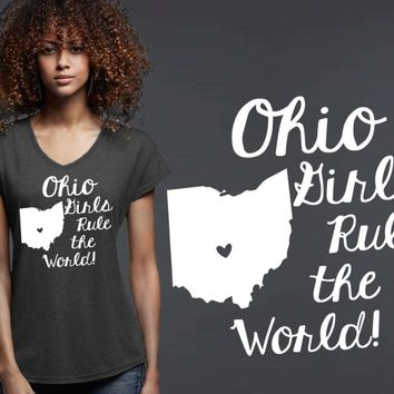 Ohio Girls T-shirt | Ohio State
