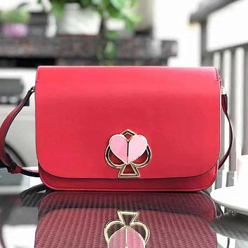 Kate Spade Women Fashion Leather Crossbody Shoulder Bag Satchel