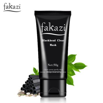 Charcoal Face Mask - Blackhead Remover and Purifying Peel
