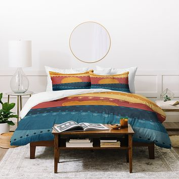 Viviana Gonzalez Textures Abstract 10 Duvet Cover