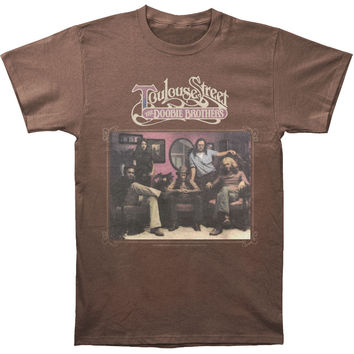 Doobie Brothers Men's  Toulouse Street Over Dyed T-shirt Chocolate Rockabilia