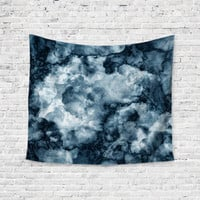 Dark Clouds Agate Geode Unique Trendy Boho Wall Art Home Decor Unique Dorm Room Wall Tapestry Artwork