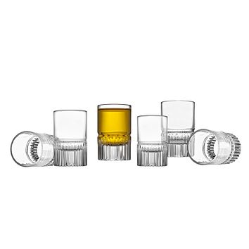 Latitude Set/6 Shot Glass