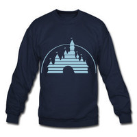 Disney Castle Unisex crewneck Sweatshirt by TheScarletFoxx on Etsy
