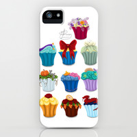 The Princess Cupcake Collection iPhone & iPod Case by Tella