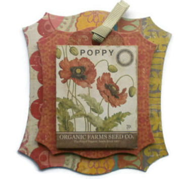 Garden, Vintage, Seed packets, flowers, Scrapbook Embellishment, Paper piecing, gift tags, Scrapbooking Layouts, Cards, Albums, brag book,