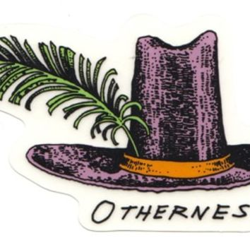 Otherness Hat Sticker - orange - Free Shipping
